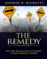 The Remedy: End Time Distraction Of Division In God's Remnant Church - Book Cover