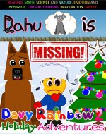 Books for kids: Christmas Eve,  Dahu is Missing!: A story about a caring boy, Davy, two dogs, and trouble! Preschool Books, Children's Bedtime Story, beginner ... 3-5 (Christmas Eve, Dahu is Missing Book 2) - Book Cover