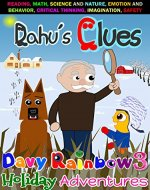 Books for Kids: Dahu's Clues: Children's book about a boy, two dogs, and Trouble! Picture Books, Preschool Books, Ages 3-5, Bedtime Story, Kids Book, kindergarten ... Reader (Christmas Eve, Dahu is Missing) - Book Cover