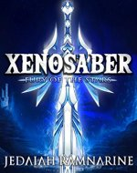 Xenosaber: Fury of the Stars - Book Cover
