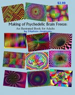 The Making of Psychedelic Brain Freeze: An Illustrated Book for Adults - Book Cover
