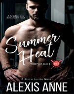 Summer Heat: A Storm Inside Novel (The Wild Pitch Series Book 1) - Book Cover