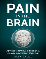 PAIN IN THE BRAIN: Advice for improving brain, memory and visual perception - Book Cover