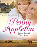 Love, Second Time Around: A Summerfield Village Sweet Romance - Book Cover