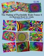 The Making of Psychedelic Brain Freeze II: An Illustrated Book for Adults - Book Cover