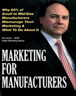 Marketing for Manufacturers - Book Cover