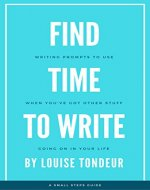 Find Time to Write - Book Cover