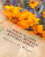 Magical Love Messages Between Kindred Spirits - Book Cover