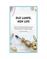 Old Lamps, New Life: The DIY Guide to Repurposing and Rewiring Vintage Lamps - Book Cover