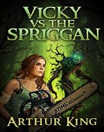 Vicky vs. The Spriggan - Book Cover
