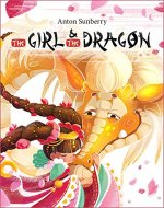 Book for Kids: The Girl and the Dragon (FREE BONUS): (Children's Picture Book about a Miracle of Friendship, Books for Kids age 3-7, Dragon Book, Bedtime Story, Fairy Tale, Kindergarten Reading) - Book Cover