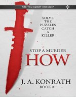 STOP A MURDER - HOW (Mystery Puzzle Book 1) - Book Cover