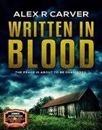 Written In Blood (Murder In Oakhurst) - Book Cover
