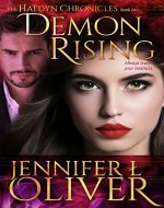 Demon Rising (The Haedyn Chronicles Book 2) - Book Cover