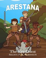 Arestana: The Key Quest (Arestana Series Book 1) - Book Cover