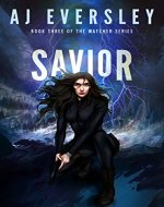Savior - Book Three of the Watcher Series - Book Cover