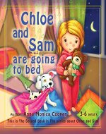 Toddler Girl and Boy book -: Five-minute Bedtime Story for Toddler discipline. (Chloe and Sam. 2) - Book Cover