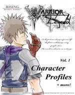 Manga Guide: Warrior Legend Character Profiles Vol.1 | Guide | Manga artwork | Character book | Illustration | Artbook| Fantasy | Fiction | Shonen (Warrior Legend Manga series) - Book Cover