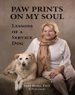 Paw Prints on My Soul: Lessons of a Service Dog - Book Cover