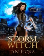 Storm Witch (Scarlet Jones Book 1) - Book Cover