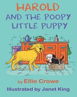 Harold and the Poopy Little Puppy - Book Cover