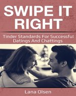 Swipe It Right: Tinder Standarts for Succesfull Datings and Chatting - Book Cover