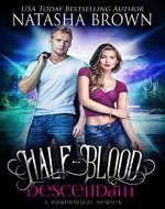 Half-Blood Descendant: A Paranormal Series (Half-Bloods Book 1) - Book Cover