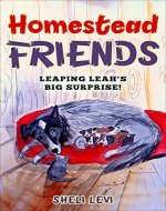 Homestead Friends:  Leaping Leah's Big Surprise! - Book Cover