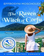 The Raven Witch of Corfu - Book Cover