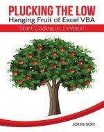 Plucking the Low-Hanging Fruit of Excel VBA – Start Coding in 1 Week! - Book Cover