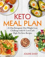 Keto Meal Plan: 21-Day Ketogenic Diet Weight Loss Challenge with...