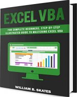 Excel VBA: Programming For Complete Beginners, Step-By-Step Illustrated Guide to Mastering Excel VBA - Book Cover