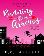 Running from Arrows (A Running Store Mystery Book 2) - Book Cover