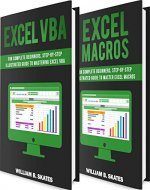 Excel VBA: 2 Books in 1 - VBA Programming for Complete Beginners and Step-By-Step Guide to Master Macros - Book Cover