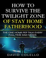 How To Survive The Twilight Zone Of Stay Home Fatherhood: The One Hour Pep Talk Every Full Time Dad Needs - Book Cover