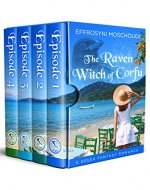 The Raven Witch of Corfu: A Greek paranormal romance box set with a witch in Corfu Greece - Book Cover