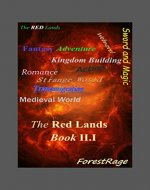 The Red Lands: Book II.I - Book Cover