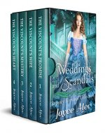 Weddings and Scandals: Regency Romance Collection - Book Cover
