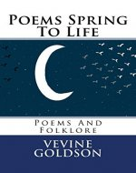 Poems Spring To Life: Poems And Folklore - Book Cover