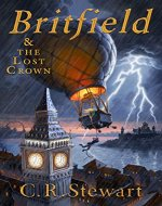 Britfield & The Lost Crown - Book Cover