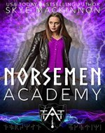 Norsemen Academy: Viking Time Travel Romance - Book Cover