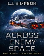 Across Enemy Space - Book Cover