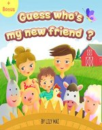 Guess who's my new friend? (Jonas & Peter Book 1) - Book Cover