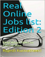 Real Online Jobs list: Edition 2: Find direct links to Online Jobs. (Date Book 8212019) - Book Cover