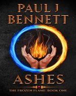 Ashes: A Sword & Sorcery Novel (The Frozen Flame Book 1) - Book Cover