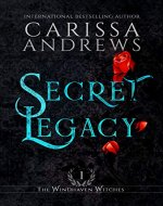 Secret Legacy: A Supernatural Ghost Series (The Windhaven Witches Book 1) - Book Cover