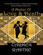 A Matter of Love and Death: A cozy Jack and Frances mystery (Jack and Frances mysteries Book 1) - Book Cover