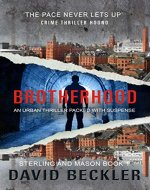 Brotherhood: An urban thriller packed with suspense (Mason & Sterling Book 1) - Book Cover