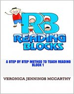 Reading Blocks: Block 1: A Step By Step Method to Teach Reading (Reading Block Series) - Book Cover