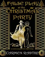 False Play At The Christmas Party: A Jack Sullivan mystery - Book Cover